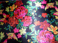 100% polyester oxford printed fabric with PVC/PU/ULY coating for cosmetic bag
