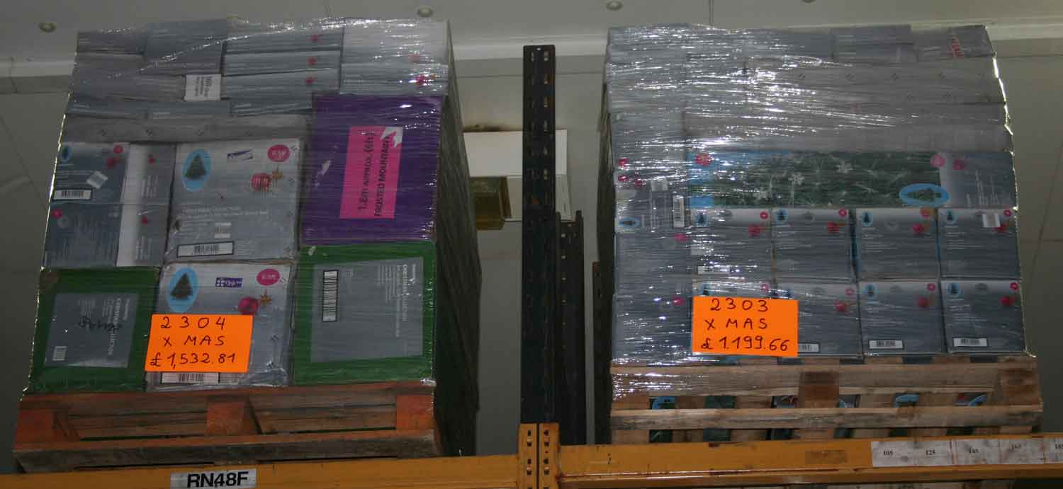 Christmas X Catalogue 1 Pallet Lot