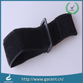 Fashion nylon elstic loop arm strap with hook in black color