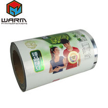Hot Sale Customized Automatic Dried Fruit Bag Plastic Roll For Aluminium Foil Roll