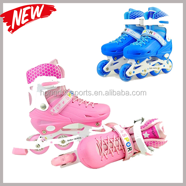 ABEC-7 bearing 4 wheel retractable roller skate shoes