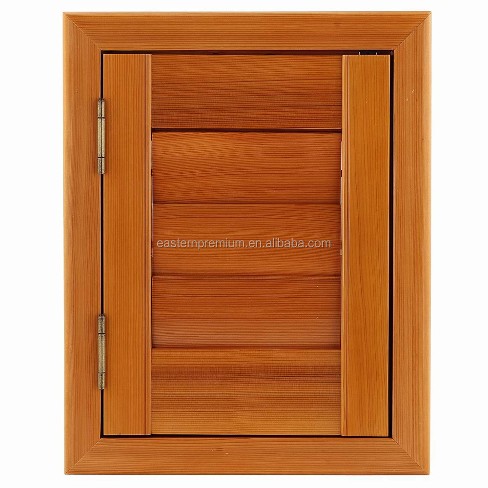 wooden plantation folding window shutters timber wood