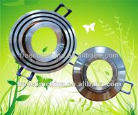 Anodized LED aluminum profile outer ring for ceiling light