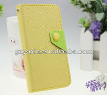 unique pu flip leather case for samsung i8190,for samsung galaxy s3 mini minion case