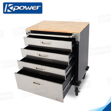 Industrial Quality Small Size Metal Tool Box With Tools