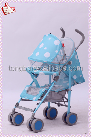 Baby Stroller with Five-point Safety Belts