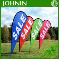 Hot selling outdoor tear drop flags