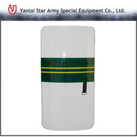Anti Riot Protective Shield/Transparent Polycarbonate Riot Shield