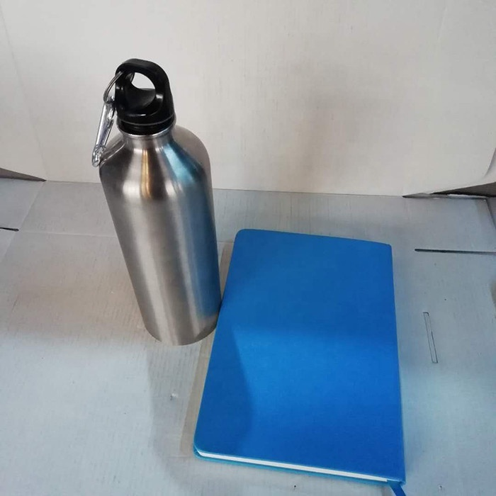 Outdoor Sports 750ml Single Wall Small Mouth Stainless Steel Water Bottle