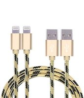 Light ning Cable Braided MFI Certified Cables with Aluminum Connector for iphone 5,6,7