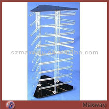 Revolving Rotating Acrylic Earring Display Holds