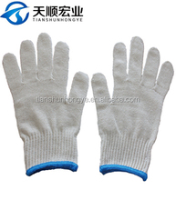 Recycled cotton knitted industrial safety gloves malaysia