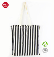 China Factory Customized Print Zebra Promotion Canvas Tote Bag Cotton