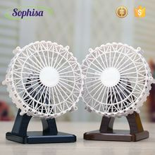 Electrical USB Rechargeable Folding Fan For Bathroom, table, Car