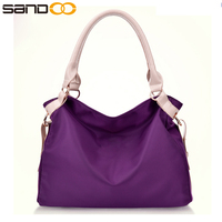 Wholesale 2017 china trendy ladies leather hand bag , free sample pu leather handbag