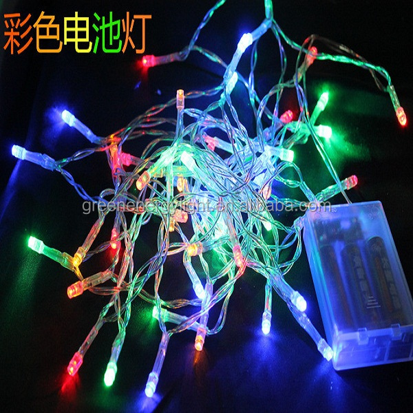 battery operated holiday time decorative light curtain