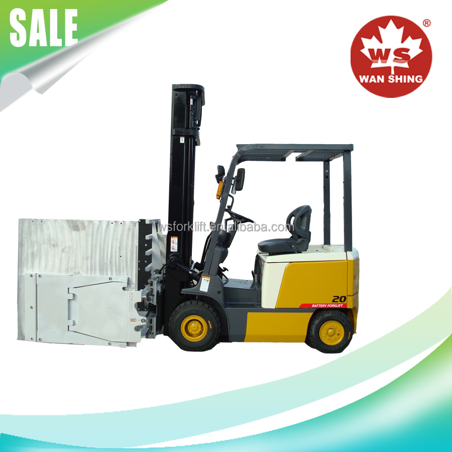 China Good Price 2.0 Ton 48V Electric Motor AC Type Battery Forklift Truck with CE/ISO/GOST