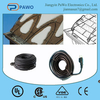 120v popular heat resistance cable roof defrost heating cable manufacturer in China for USA and Canada