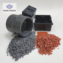 Injection Grade PVC Granules/PVC Recycled Granules For Injection Molding