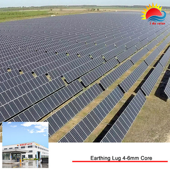Ground Mounting System Grid Solar Energy Plant