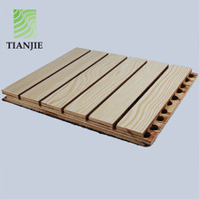 Tianjie Soundproofing Materials Cheap mdf Wooden Acoustic Panel wall Price in malaysia