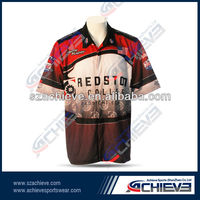 2013 hot sell custom racing uniform shirts