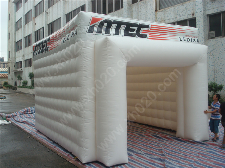 inflatable cube tent for events or promotion