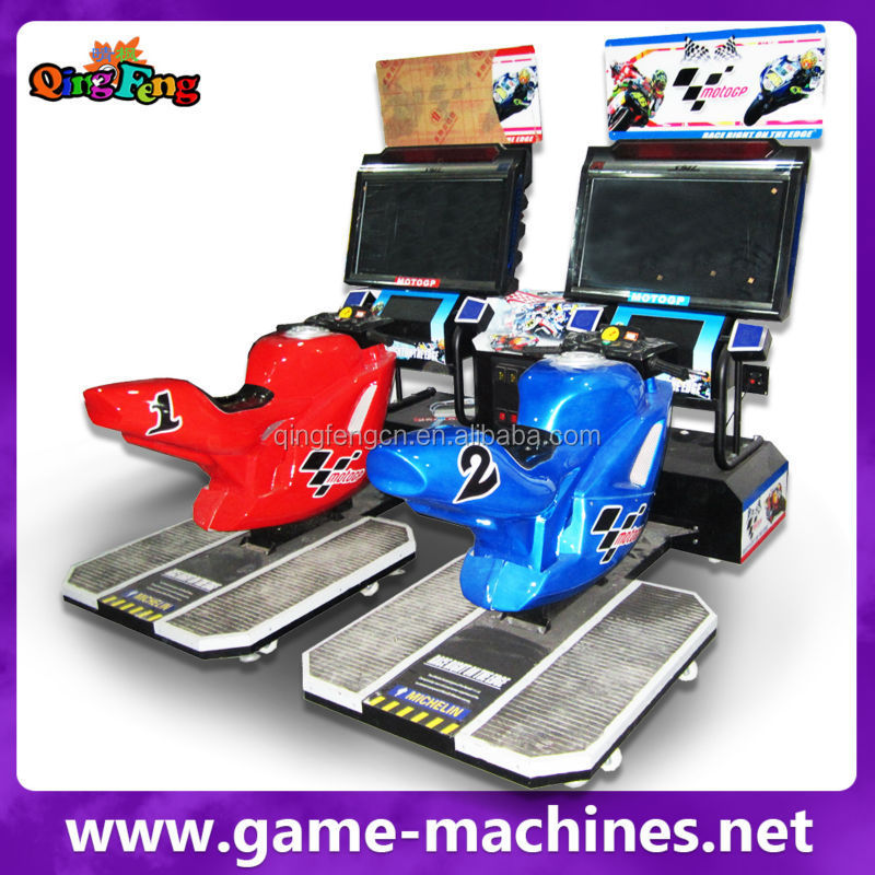 Qingfeng rapid speed moto gp4 simulator motor racing game machine racing bike moto game machine