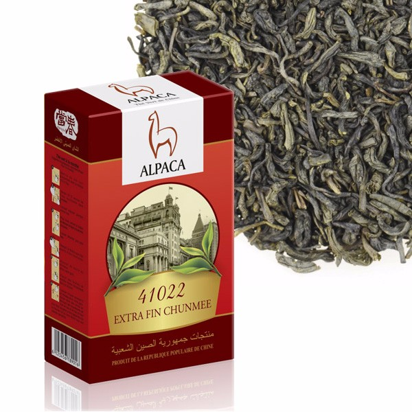 chinese green tea Extra Fin Chunmee ALPACA - 41022 tea