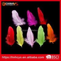 Superior Quality Dyed Artificial Goose Feather