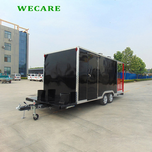 New design coffee beverage trailer mobile food truck