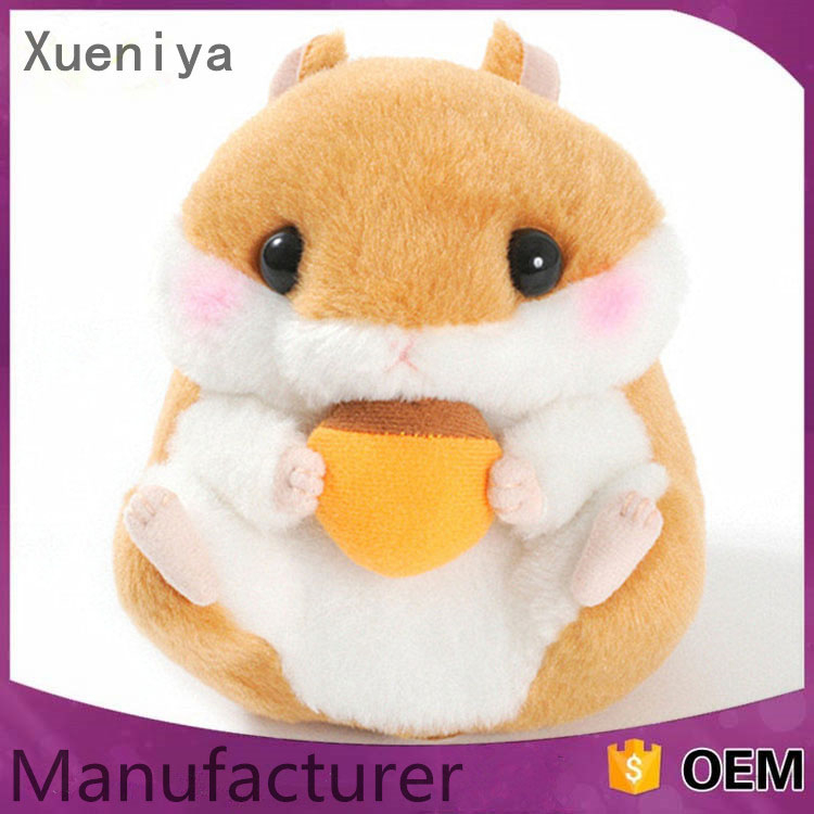 China Wholesale Cheap Custom Stuffed Soft Kids Toys X Hamster Animals