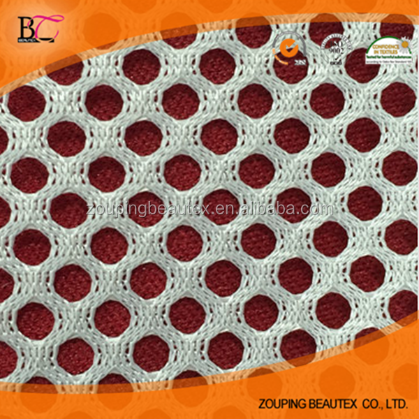 Manufacturers selling small round hole stereo warp knitting mesh fabric