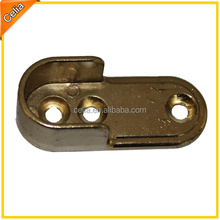 wardrobe closet metal alloy casting tube rod brackets