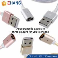 China new charging and data transmission magnetic cable for iphone