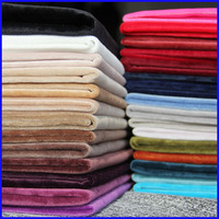 Trade Assurance 20% silk 80% viscose velvet fabric for garment