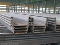 Hot Rolled PU400*150 Steel Sheet Pile on Sale
