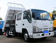 isuzu China New Mini Model ELF 4*2 Ralated Load 1.45T Dump Truck for sale