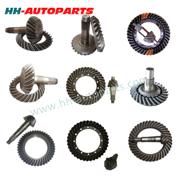 Transmission Spare Parts F650 Ratio 6x38 for LEYLAND/EATON High Quality Car Crown Wheel and Pinion