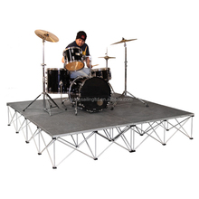New drummer riser / aluminum DJ portable stage truss