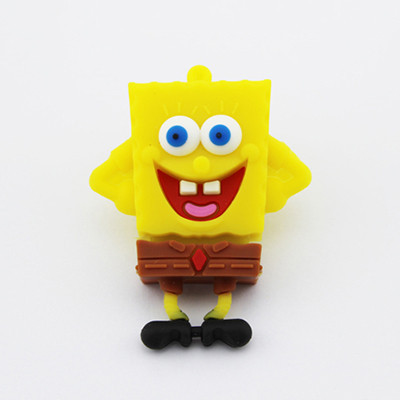 China bulk cheap cartoon SpongeBoB pen drive usb flash drive 4tb usb pendrive 4GB 8GB 16GB 32GB