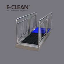 industrial automatic shoe cleaner sole shoe cleaning machine( E-CLEAN 2000)