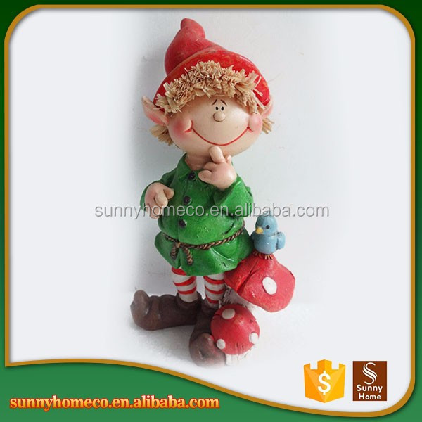 Factory Resin Crafts Statue Custom Resin Baby Christmas Gift