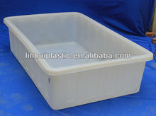 700L plastic attached-lid storage containers