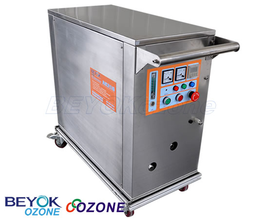 GQW-M08 Mobile Industrial Ozone Machine Ozone Equipment for Sewage Water Treatment