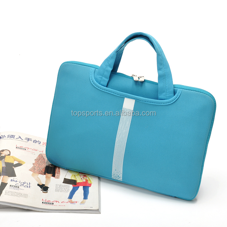 Hot sale neoprene laptop case waterproof laptop bag computer case with hander