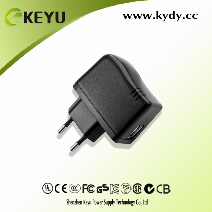 For Pad, Phone, Samsung Tab and Android Devices 5v 2a usb travel charger power supply