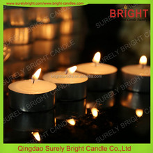 China Factory Direct Sale Lead Free 4 Hour Tea light Candle