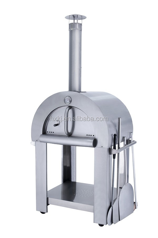 Modern Design stainless steel Wood Fired Pizza Oven