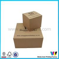 China supply wholesale Fancy bread packaing food box for animal